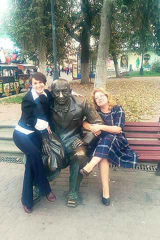 Director Olga Chirkina and Ksenia Kosolapova IGK credit management filial Nizhny Novgorod